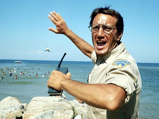 "Watching ""Jaws"" on the beach with your feet in the sand and waves crashing nearby adds another element to this classic film. Give it a try at dusk."