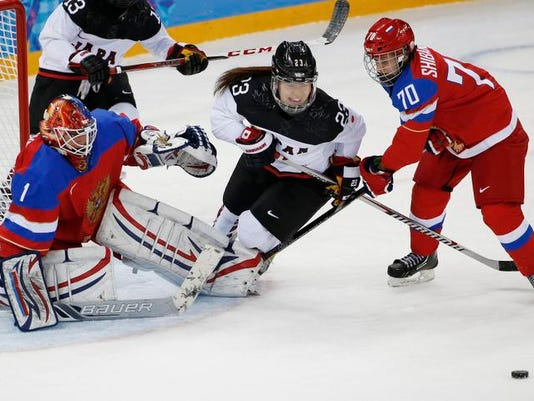 Sochi Olympics Ice Hockey Women