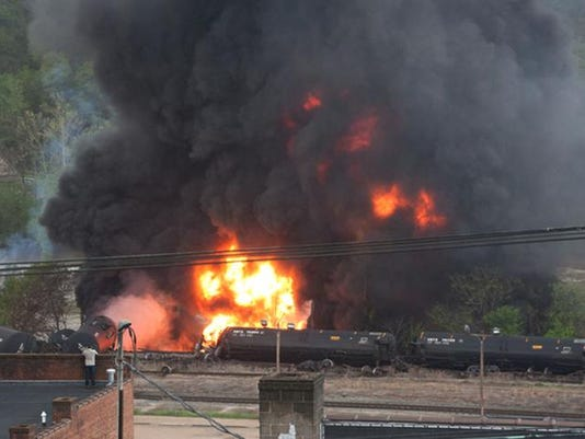 APTOPIX Train Derailment Virginia