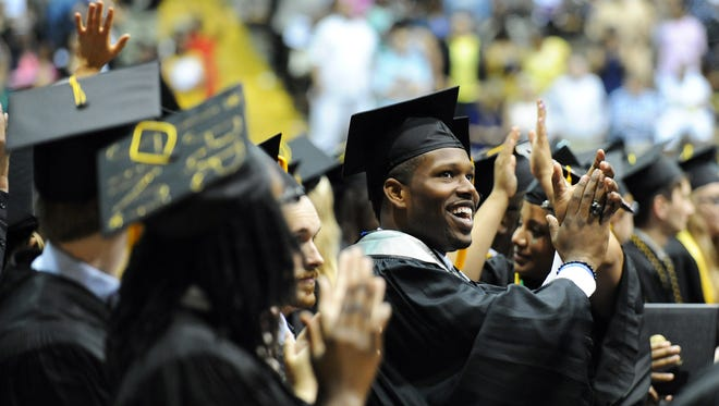 The University of Southern Mississippi will host two graduation ceremonies Friday in Hattiesburg.