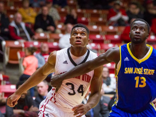 College basketball: San Jose State at Southern Utah,