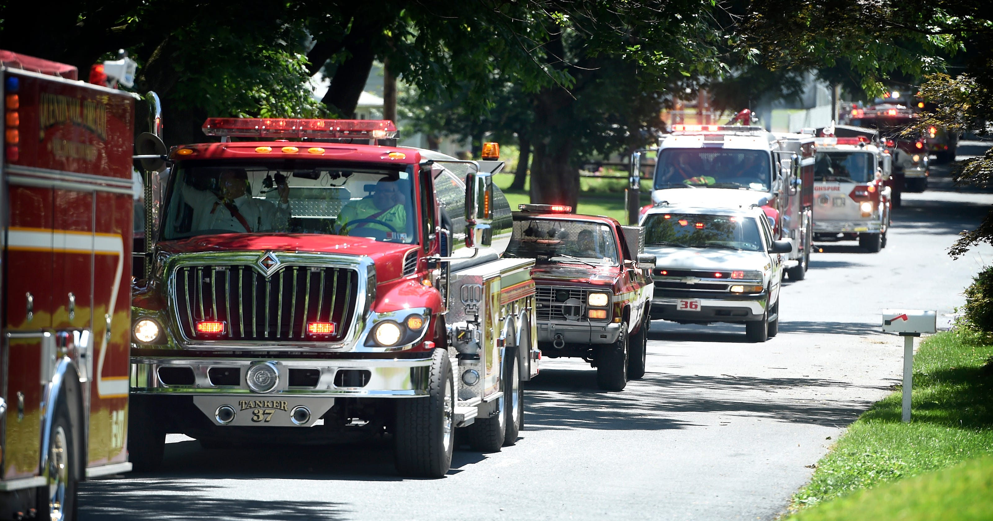 Lebanon County Firefighters Association names parade winners