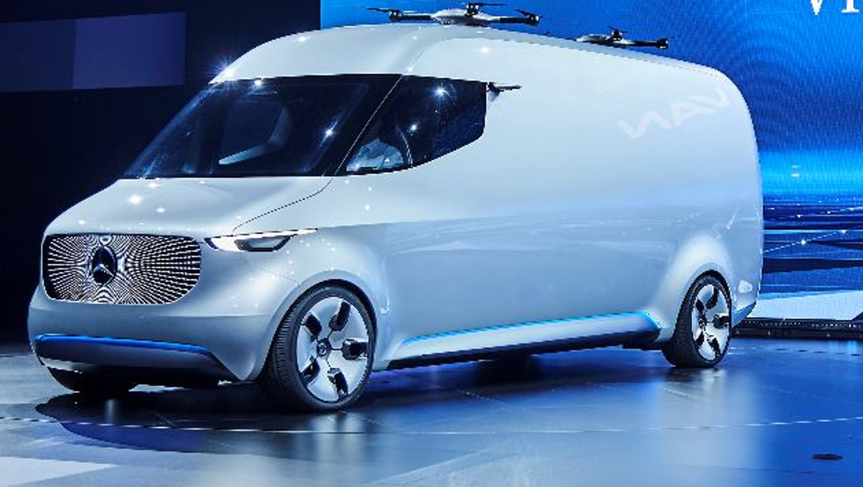 Mercedes Benz Vans Unveils Drone Van Concept