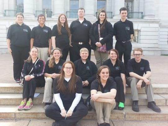 During Kewaunee and Door Legislative Day, 4-H Teen members partnered with community leaders and met with legislators to discuss topics of vital importance to Kewaunee.