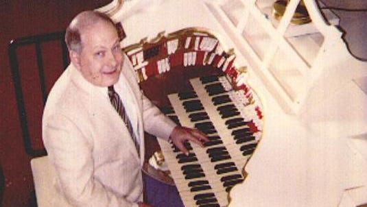 Fred Lewis when he was an associate organist at The Renaissance Theatre.