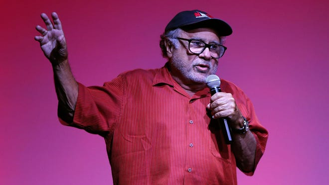 Actor Danny DeVito appears at the House of Independents in Asbury Park Sunday.