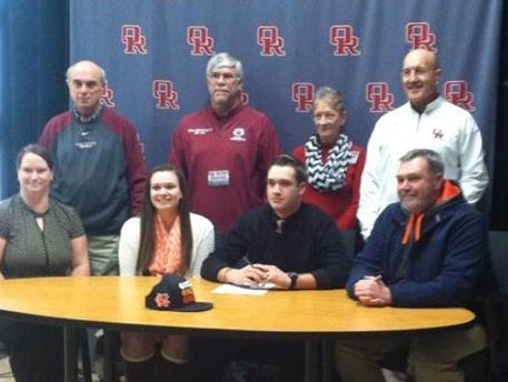 Zach Kassner, Oak Ridge, signed to play football with Carson-Newman