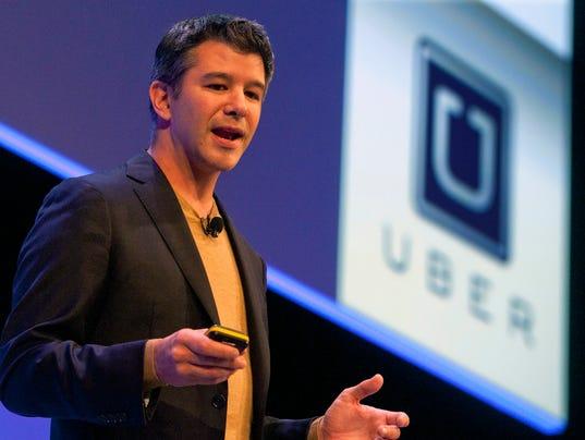Travis Kalanick, Uber CEO