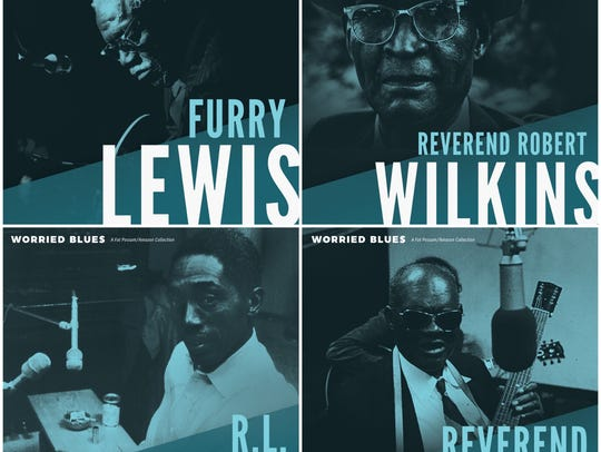 """Worried Blues"" features titles from Furry Lewis, Reverend"