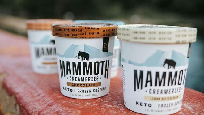 Mammoth Creameries is an Austin-based frozen custard brand that is sold at Whole Foods, Wheatsville and a number of neighborhood markets.