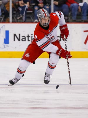 Sophomore Tanner Laczynski has had a huge impact in two seasons with the Ohio State Buckeyes.