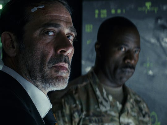 Jeffrey Dean Morgan (left) and Demetrius Grosse star
