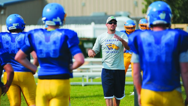Head coach Greg Horton and the Great Falls Central Mustangs take on Fairview Saturday in the State C semifinals at Memorial Stadium.