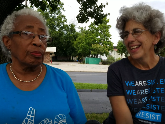 Gloria Stewart and Angie Denov discuss their time in