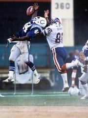 Former ASU defensive back Kendall Williams (left) played