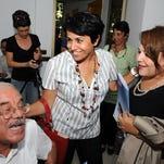 Ahlem Belhadj is the director of the Tunisian Association of Democratic Women (ATFD).