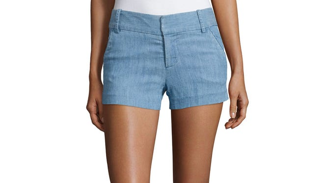 Really short shorts