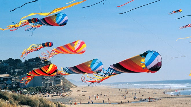 """This theme of this year's Summer Kite Festival, which takes place June 25 and 26 in Lincoln City, is """"Windstock,"""" a psychedelic blend of windsock, a popular kite design, and Woodstock, the famous music festival synonymous with hippie culture."""