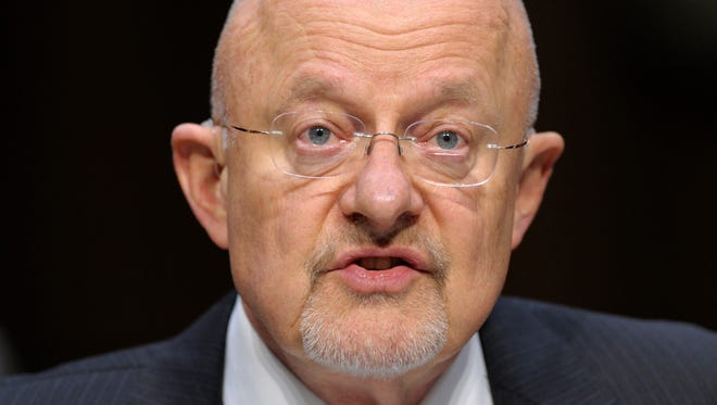 James Clapper, the former director of national intelligence, says there was no court order to monitor Donald Trump's phones.