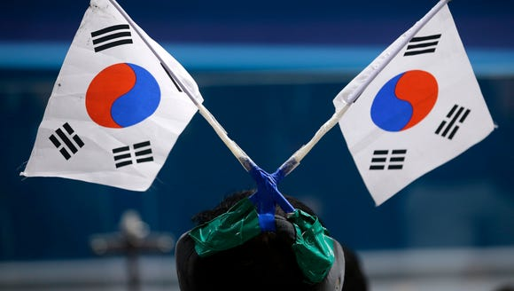 South Korea is hosting the Winter Olympics this year.