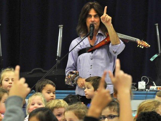 Trans-Siberian Orchestra musician Mark Wood