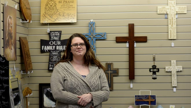 Amy Holliday is the new owner of Trinity Christian Gifts & Books in Richmond.
