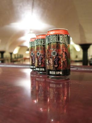 Christian Moerlein's Red Hop Mess Red IPA is being released in cans.