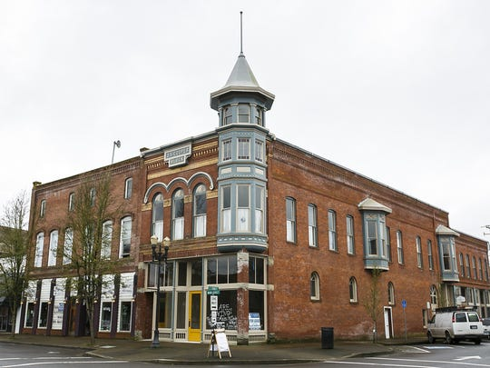 The J.S. Cooper Building, located at 206 S. Main Street in Independence, Ore., on Tuesday, March 21, 2017. The building was constructed in 1895.