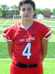 Port Clinton's Connor Gillum stepped up as a good fit in the secondary late last season.