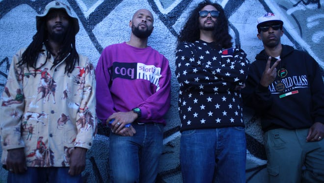 Hip-hop group Souls of Mischief, premiering new album 'There is Only Now' on usatoday.com.