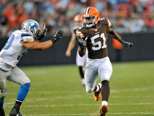 NFL injury roundup: Browns' Barkevious Mingo hospitalized