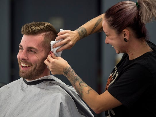 Veterans and active military can get free haircuts at participating locations.
