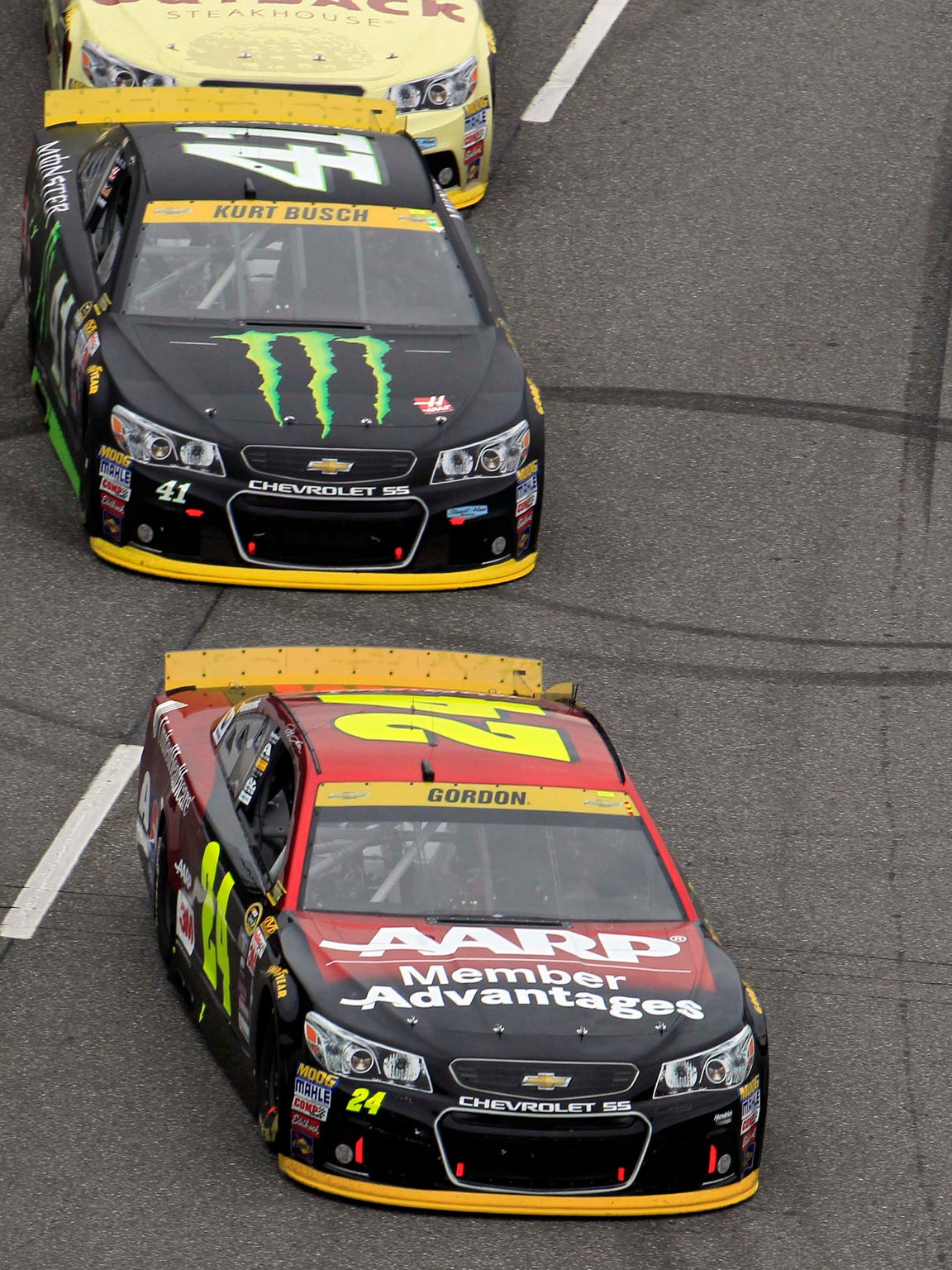 Nov. 1, 2015; Martinsville, Va.; Sprint Cup Series driver Jeff Gordon (24) is chasing his fifth Cup championship this season.