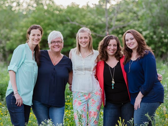 Janelle Meyer-Brown (second from left) offers a number of tips when it comes to planning a fun, successful outdoor event.