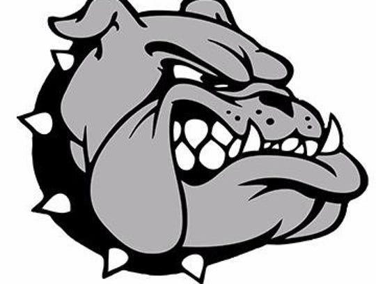 The Livonia Bulldogs logo.