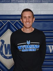 Wyoming cross country coach Travis Glendenning in a 2013 photo