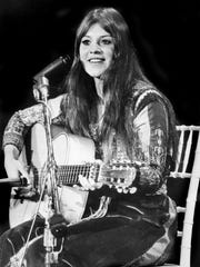 Melanie was one of three women to perform solo at the Woodstock music festival in 1969.