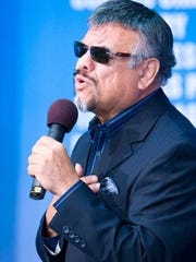 Legendary Little Joe Hernandez and his band will perform April 12 at Fiesta de la Flor.