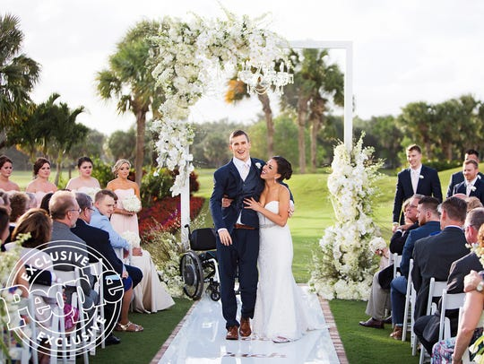 Chris Norton and Emily Summers wedding on April 21,