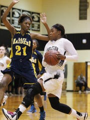 Pendleton High School's Tamia Grate looks to lead the