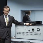"""Peter Sarsgaard is well cast as a clinical psychologist in the darkly funny drama """"Experimenter."""""""