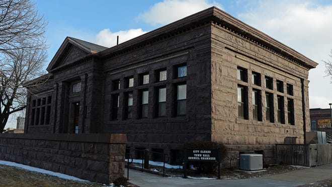 Carnegie Town Hall in downtown Sioux Falls