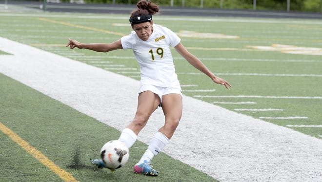Reynolds senior Ashlyn Perkins has committed to play college soccer for Mars Hill.