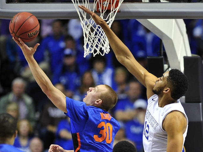 Uk Basketball: SEC Tournament: Kentucky V. Florida