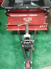 Legend Land Feed & Pet Supply also sells equipment, such as manure spreaders.
