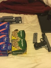 Items seized during marijuana grow operation arrest