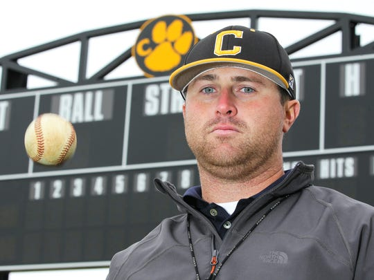 Blair Carson is the new Crescent High School baseball coach. Carson, a Westside High School and Anderson University graduate, played professional baseball before coaching in Hilton Head and then taking the job in Iva.