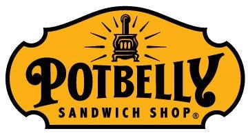 Potbelly Sandwich Shop logo.