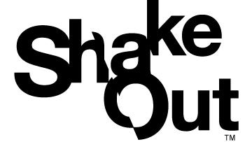 The International ShakeOut Day of Action, every third Thursday of October, is a day of individual and community events featuring the largest earthquake drill ever, organized to inspire others to get ready for big earthquakes, and to prevent disasters from becoming catastrophes.