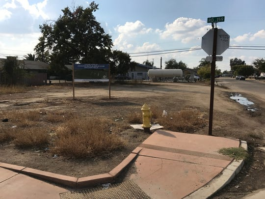 The Ivanhoe Boys and Girls Club is attempting to develop a dirt lot across from their building into a new soccer field with lights. Tuesday, November 1, 2016.